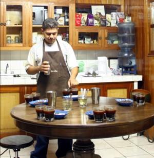 Kaffeetest bei Soppexcca